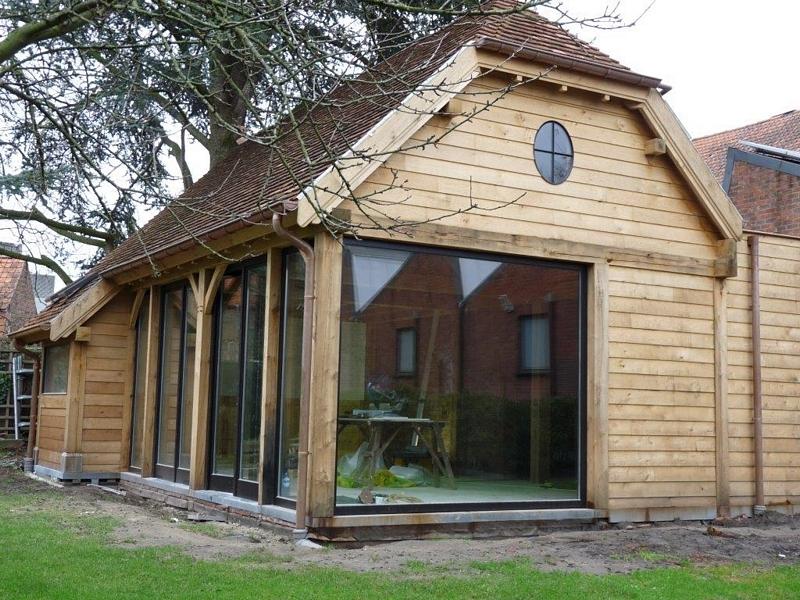 eiken houten bijgebouwen traditionele eiken bijgebouwen aanbouwen in eik eiken spanten en. Black Bedroom Furniture Sets. Home Design Ideas